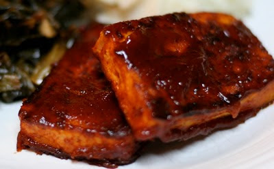 this is a quick and simple version of my memphis bbq tofu recipe i ...
