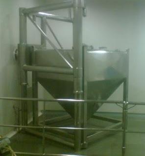 bin blender equipment