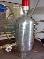 pressure transmitter used in pressure vessel with pressure sensor