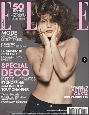 LAETITIA CASTA - NUDE - FRENCH ELLE