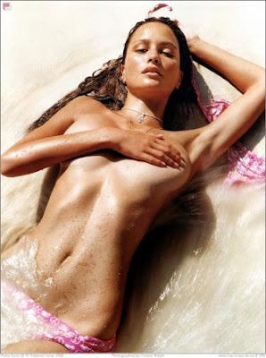 Bar Rafaeli rosa Bikini