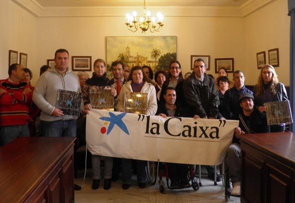 Villamartin cultural entregadas las ayudas de la obra for Oficina 3060 la caixa