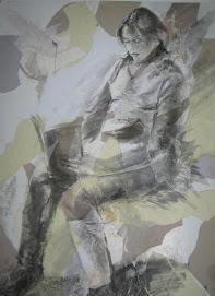 من لوحات الشهيدة نهر