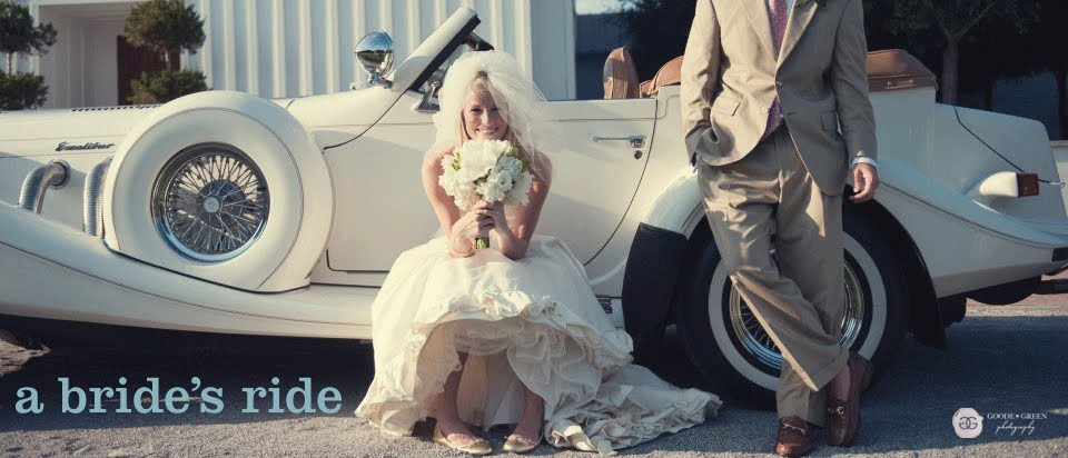 a brides ride