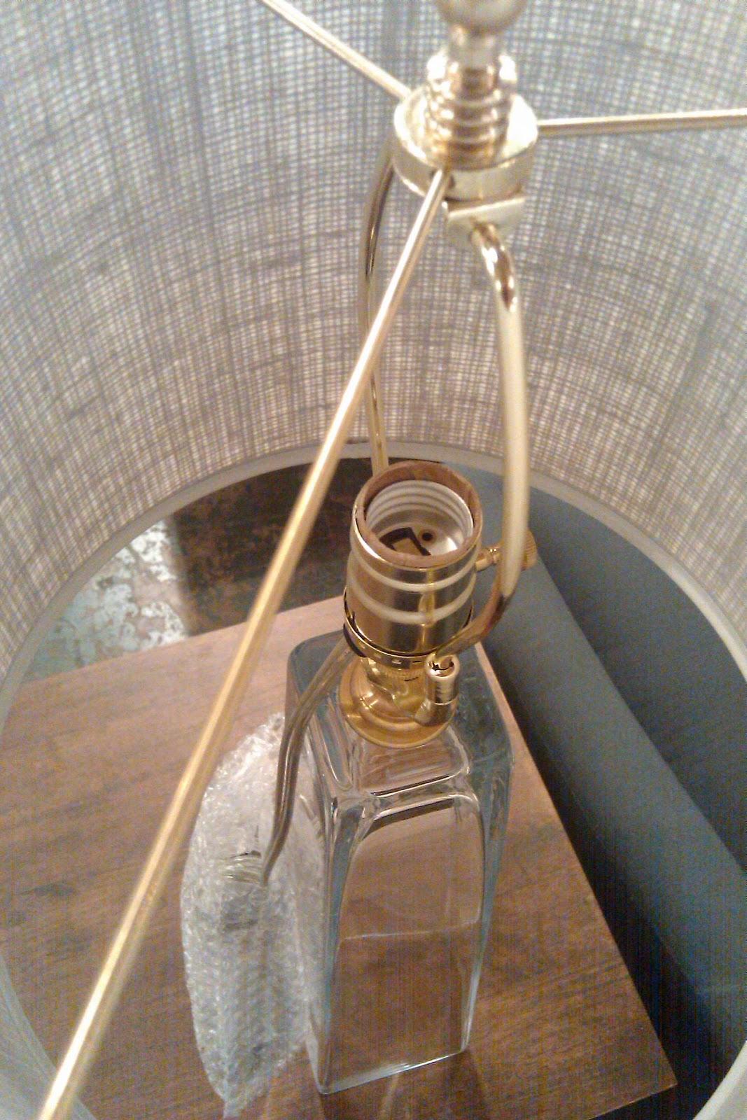 Diy Lamp Remodelaholic Diy Lamp Kits On Vases