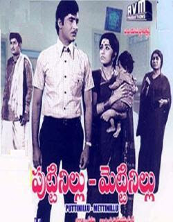 Puttinillu Mettinillu 1973 Telugu Movie Watch Online