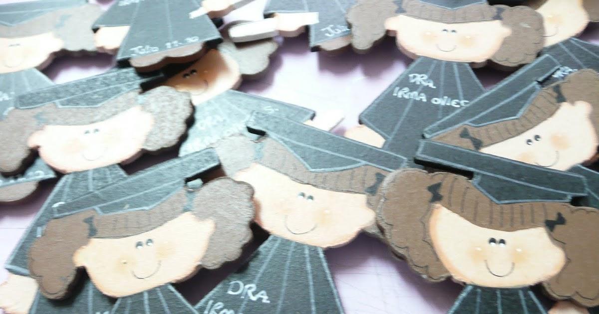 Arteluna creatividad para regalar magnetos de graduandas - Creatividad para regalar ...
