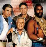 """The A-Team,"" created by Stephen J. Cannell (NBC,"