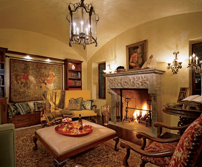Good design there is just something about spanish for Colonial living room decorating ideas