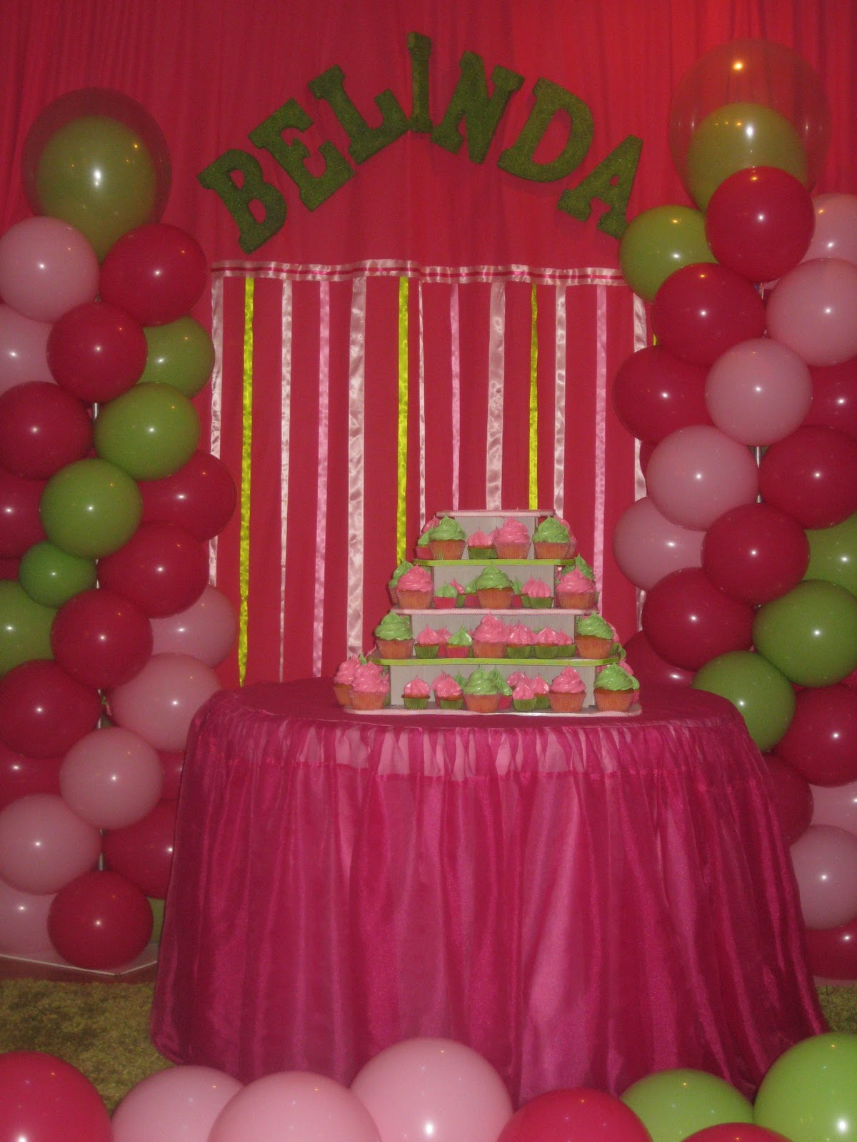 Party Planning at Your Liking: Lady-bug 1st Birthday