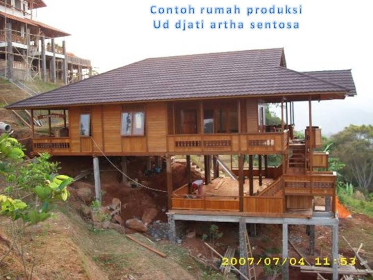 contoh rumah pesanan