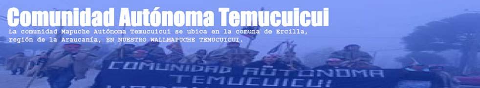 Comunidad Mapuche Autónoma Temucuicui