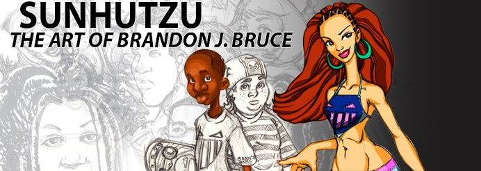 Sunhutzu - Art of Brandon J. Bruce