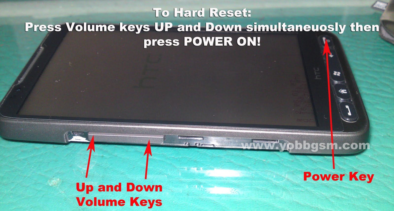 Htc hd2 hints 9 : How to Hard Reset your Hd2 Leo