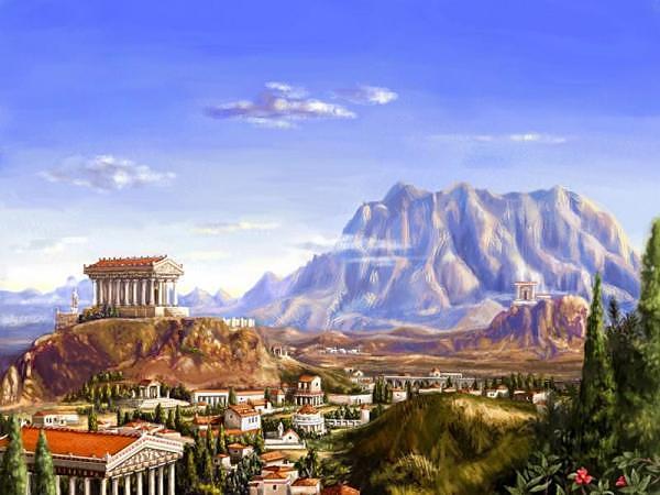 Seasons Of Learning Stairway To Mount Olympus