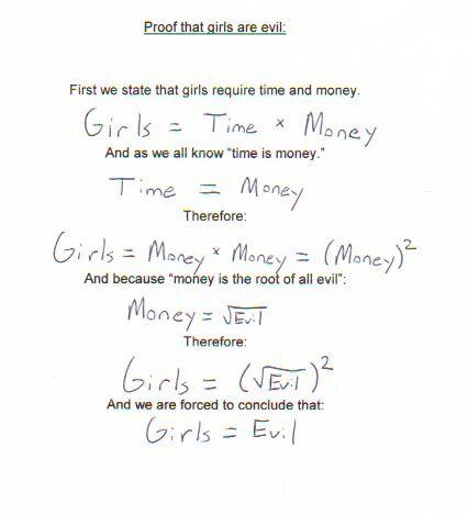 Funny Math Answers