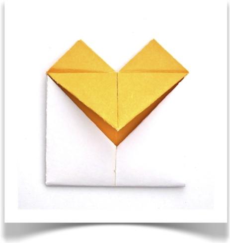 Crafts DIY Hearts Letter Folding