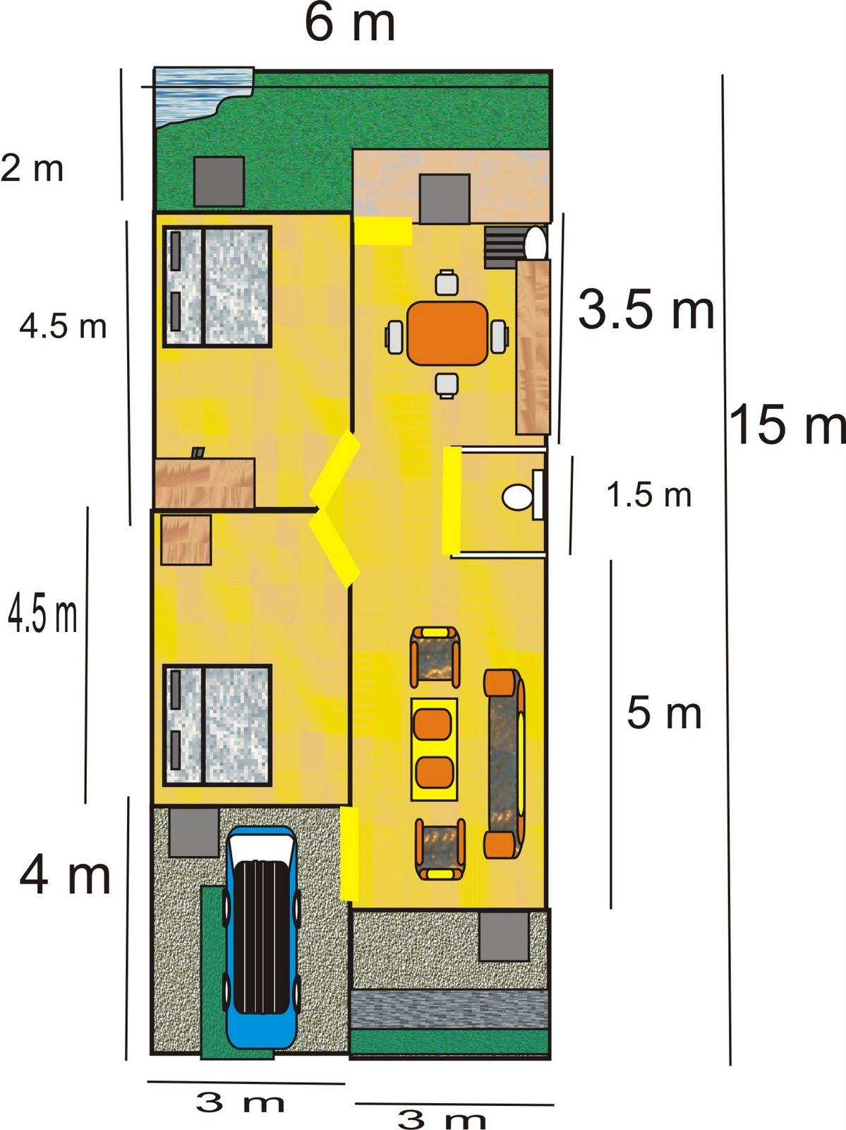 Gambar Denah Pondasi Rumah Dan Ruang Usaha Ruko Rukan Denah Dan Desain ...