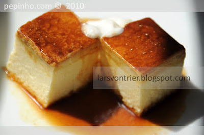 Flan de queso