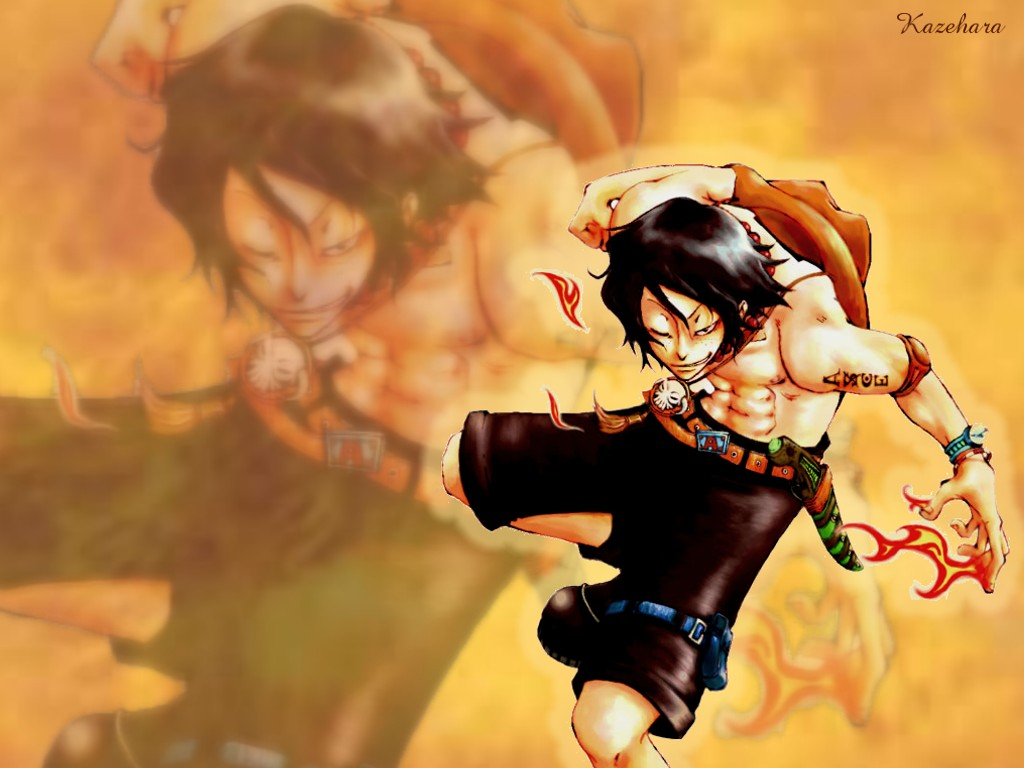 OnePiece           08 00One Piece Wallpaper Ace