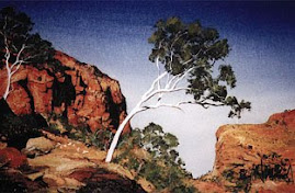 'White Ghost Gum at Ormiston Gorge'