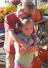 Tre and Belle at the Pumpkin Patch