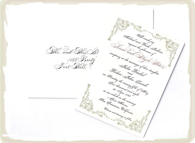 Emily Post Wedding Invitation for your inspiration to make invitation template look beautiful