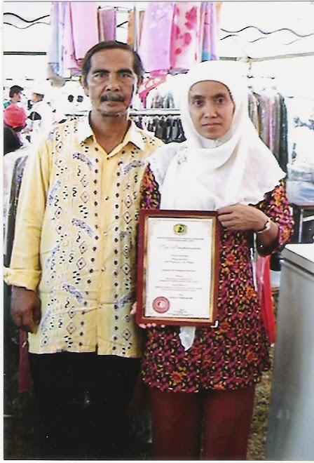 En.Kassim dan Puan Embon.pengusaha aiskrim.