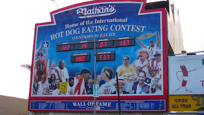Nathan's Hot Dog Eating Contest Winner 2009