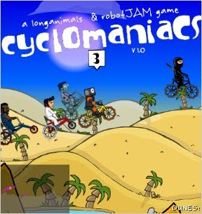 CycloManiacs Walkthrough | Cyclomaniacs Cheats