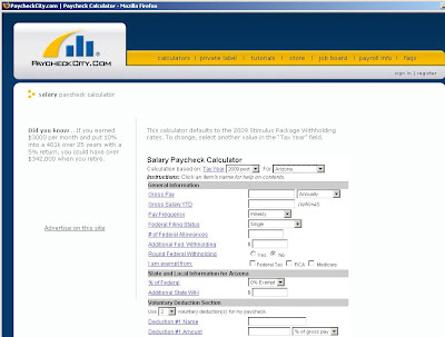 Paycheck calculator - PaycheckCity.com salary calculator