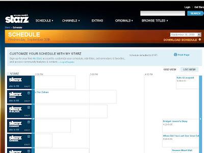 Starzschedule - www.starz.com/schedule