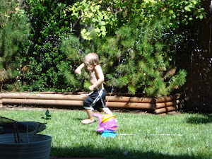 Ethan and his first sprinklers