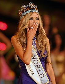 Russia just crowned Miss World 2008