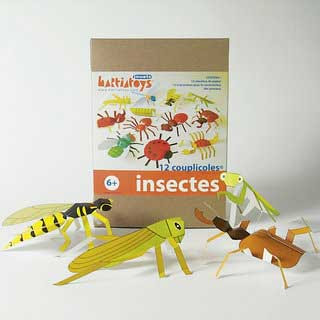 Insect Papercraft
