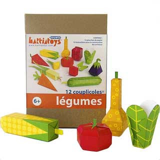 Vegetable Papercraft