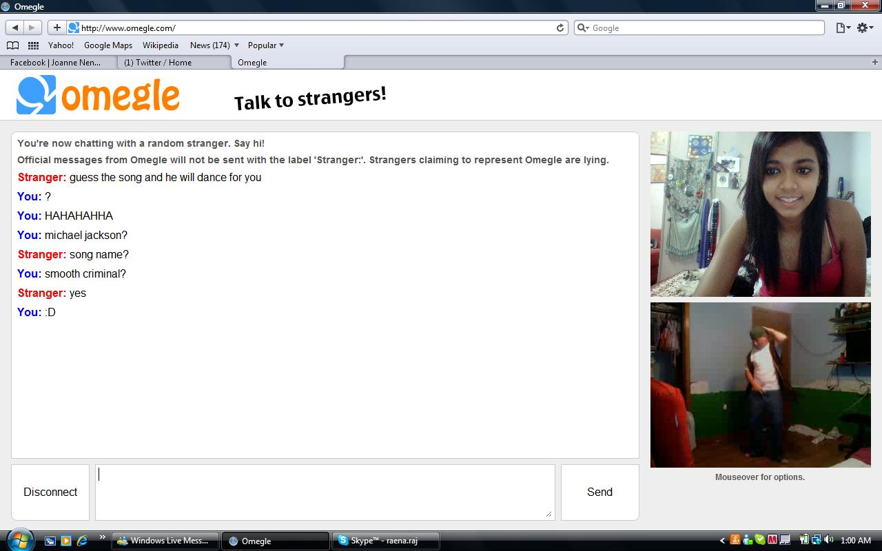 chat omegle girls