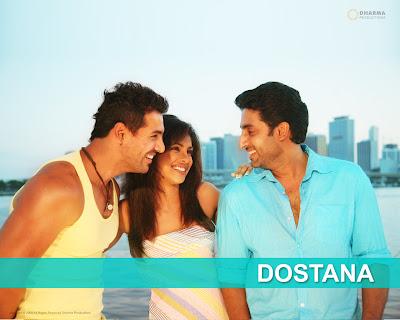dostana - Bollywood Love Triangle