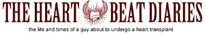 Logo from Euan Sharp's Heart Beat Diaries blog