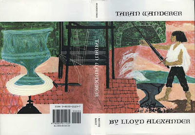 Cover of Taran Wanderer with original art by Evaline Ness