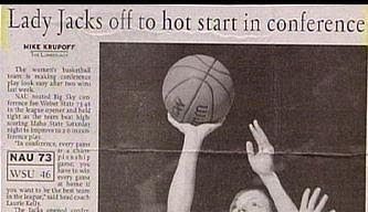 Headline: Lady Jacks off to a hot start in conference
