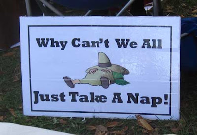 Why don't we all just take a nap, color ink jet printout