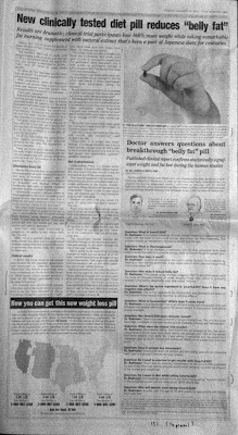Full page ad for SmartLean with Fucoxanthin