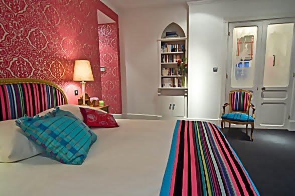 Large and Colouful House on Portland Road in London 11 - Renkli Ya�am Alanlar� Sevenler ��in Rengarenk D��enmi� Bir Ev