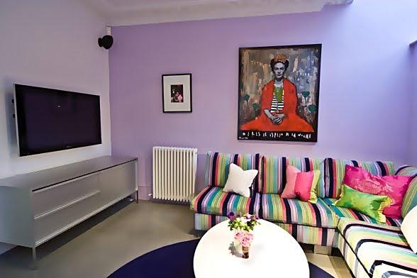 Large and Colouful House on Portland Road in London 9 - Renkli Ya�am Alanlar� Sevenler ��in Rengarenk D��enmi� Bir Ev