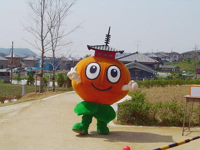 斑鳩町のマスコットキャラクター・パゴちゃん