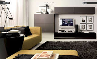 Modern Living Room Design Showcase Furniture