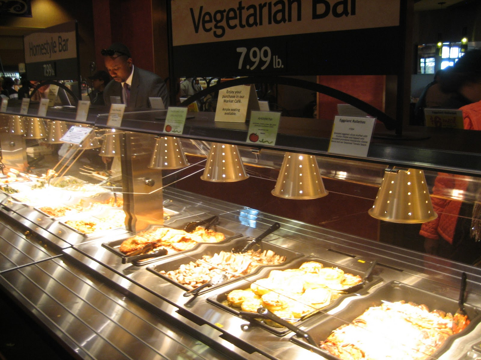 Shop without kids avoid prepared foods more ways to for Food bar wegmans