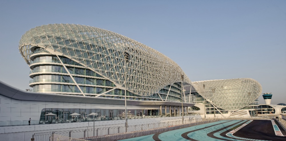 Daily architecture the yas hotel in abu dhabi by asymptote for Asymptote architecture yas hotel