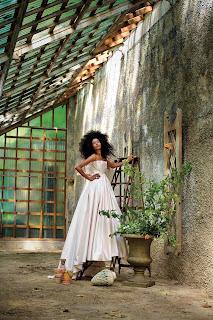 Romona Keveza Pink Wedding Dress